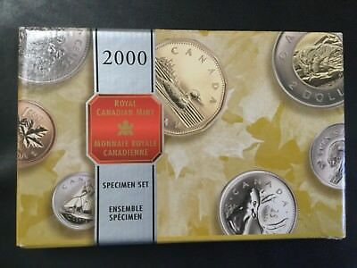 2000 Canada Silver Commemorative Special Proof Coins Set!