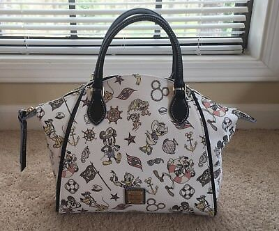 Dooney & Bourke Disney Cruise Line DCL Satchel NWT Mickey and Friends 2017