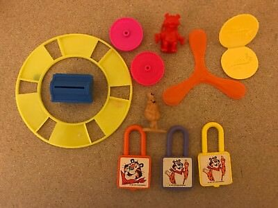 Kellogg's Cereal Premiums Lot from 1980s & 1990s