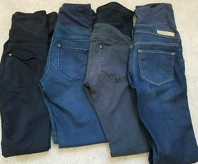 Lot of 4 H&M maternity pants/jeans Size 4 (XS-S)