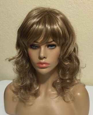 New Wig, Similar to Curve Appeal by Raquel Welch, Blonde w/ Highlights #1652
