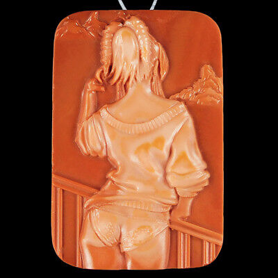 WalyCorp Carved Lady Model Bead DQ502096