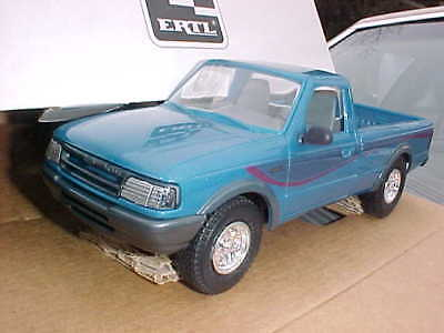 1994 Blue Ford Ranger Truck Promo Scale Promotional Model In Mint Orig Amt Box!