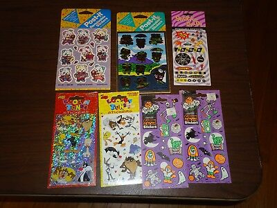 Mello Smello Looney Tunes, Post It, Halloween, 7 packs, Removable Stickers, NEW