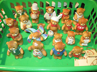 20 bear lot of Lucy and & Me Lucy Riggs Enesco figure figurine vintage