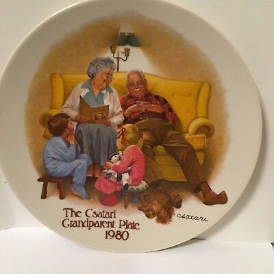 A Bedtime Story by Joseph Csatari Collector's Plate with Certificate