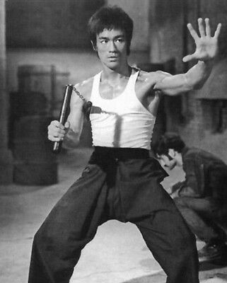 Bruce Lee UNSIGNED photograph - L4595 - Enter the Dragon - NEW IMAGE!!!!!