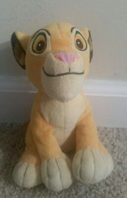 "Disney 'The Lion King' Baby SIMBA Soft Plush Stuffed Animal Doll Toy 6"" 15cm"