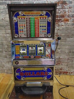 Authentic~Bally's Dollars Slot Machine~ Working ~ #1091-49~140 Tokens~SHIPS FREE