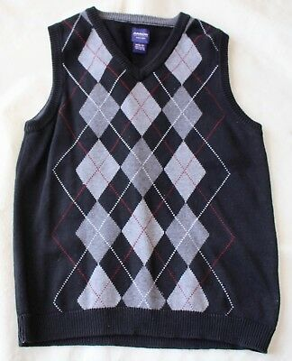 Boys ARROW sweater vest M 10-12 Spring Fall Winter Dress Casual Holiday 10 12