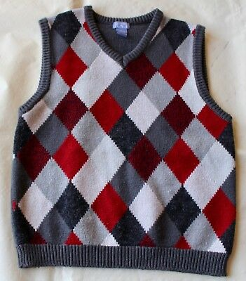 Boys THE CHILDREN'S PLACE Sweater Vest L 10-12 Spring Fall Winter Casual 10 12