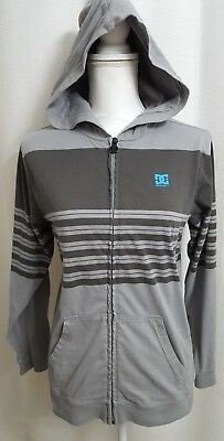 DC Shoes Gray Full Zip Hoodie XLARGE (#S) YOUTH