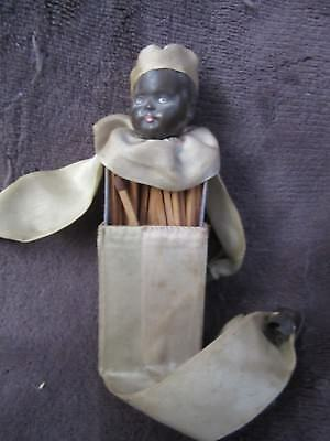 black americana doll antique matchbox