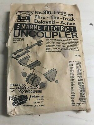 Kadee Ho Magne Electric Uncoupler No. 810 Thru The Track Delayed Action Kit