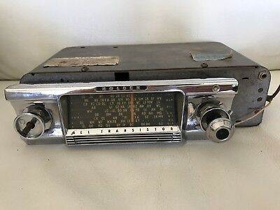 Early Holden Air Chief Radio
