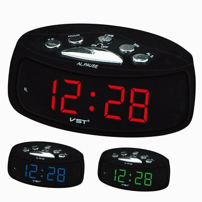 0.9 in VST LED Digital Alarm Clock Electronic  Table Clock alarm GT