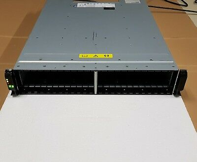 IBM V7000 2076-224 Storwize/2× Power Supply 2 x 00AR041 Controller 10Gbe Storage