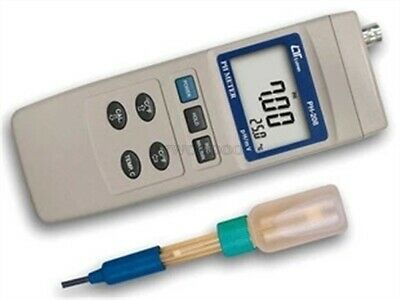 New LUTRON PH-208 Digital PH METER (Ph / Mv) Tester 0 To 14 PH X 0.01 PH cs