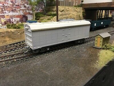 Silvermaz HO scale NSWR TRC refrigerated van - assembled kit