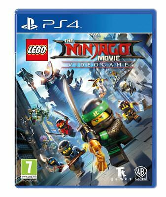 The LEGO NINJAGO Movie Videogame PS4 Spiel *NEU OVP* Playstation 4