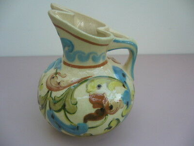 Torquay Ware - Aller Vale B1 Pattern?  Very Rare And Unusual Jug