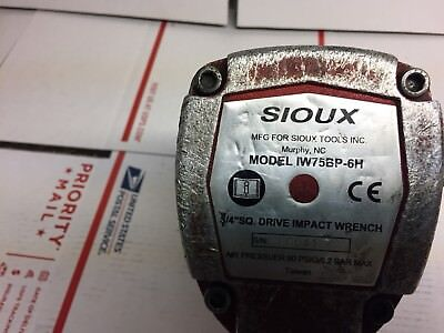 """Sioux IW75BP-6H 3/4"""" Impact Wrench"""