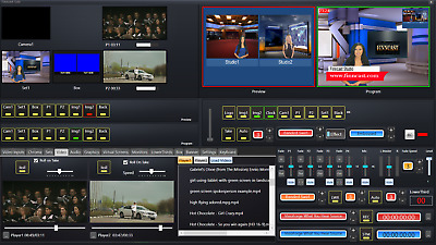 Video Switcher Software With Live Streaming