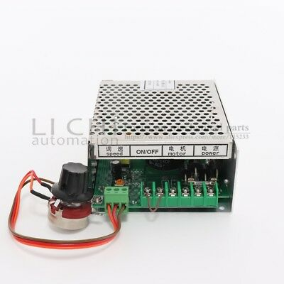 500w CNC air milling spindle motor Power Supply 220/110v with speed control (Mac