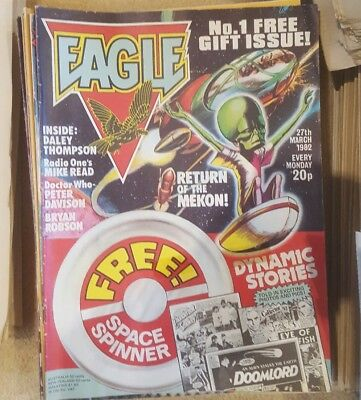 eagle comics 1982 onwards...176 issues 1- 46 100-