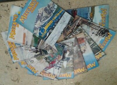 Meccano Magazines 12 Issues  From 1961 Antique