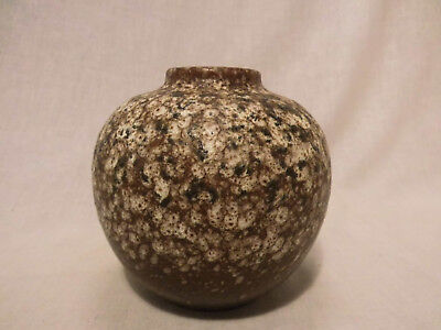 BAY 64 12 Vase ball vase Keramik west german pottery design 70er 70s