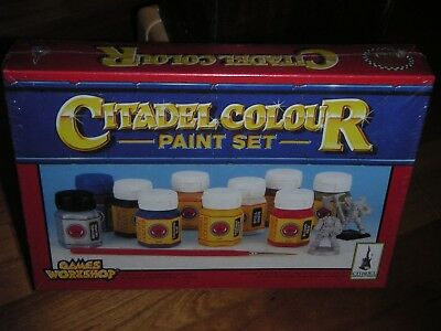 Citadel Colour Paint set Warhammer Farbe Games Workshop original verpackt