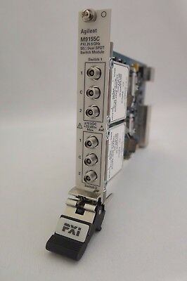 Agilent M9155C PXI Hybrid Dual SPDT Coaxial Switch, DC to 26.5 GHz