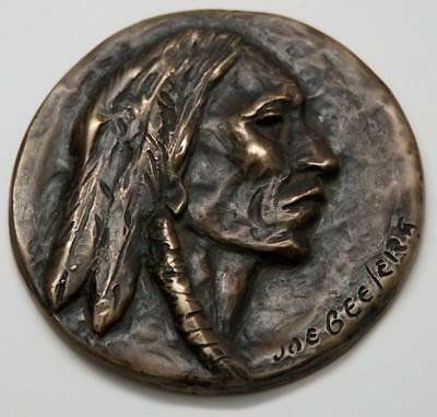 Joe Beeler Native American Bronze Medal - from Eddie Basha