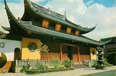 China Grand Altar Sakyamuni Jade Buddha Temple Postcard A0137
