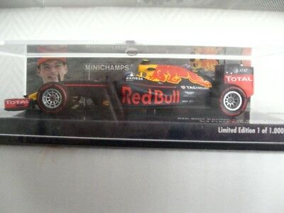 Red Bull Racing - TAG Heuer RB12 - M. Verstappen - Germany 2016 - 1:43