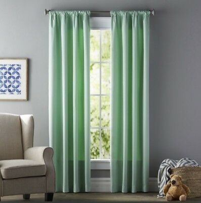 Mint Green Curtains