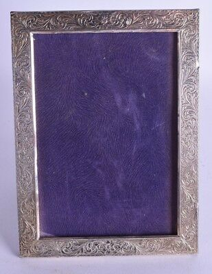 good antique solid silver photograph frame picture frame sterling 925 105 grams
