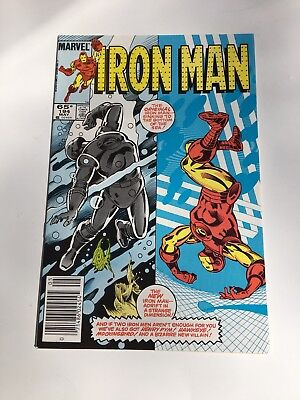 Iron Man # 194  9.2 Near Mint. Double Cover Variant