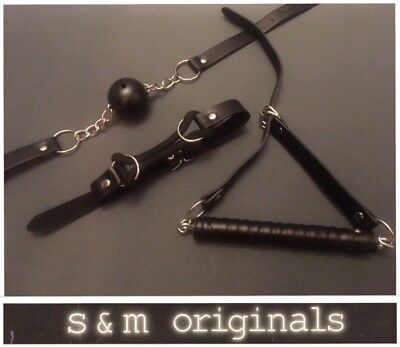 Bondage kit mouth gag drool gags pony bit gag fetish party role play New Edt