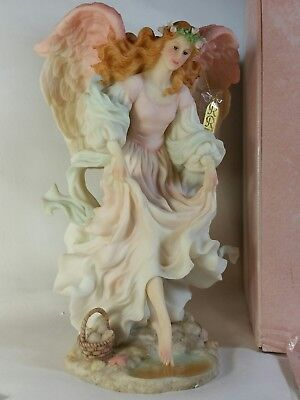 "Seraphim Angel Avalon Free Spirit Tall 11"" High Retired 1998 5th in Series w COA"