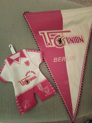 1.FC Union Berlin Wimpel + Mini Trikot