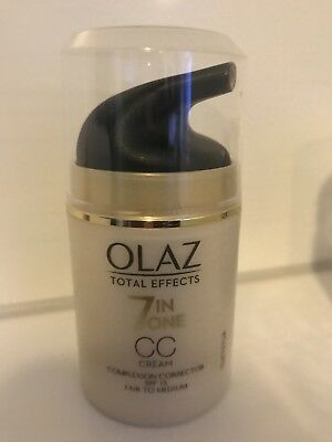 OLAZ Total Effects 7inOne CC Creme Make Up getönte Tagescremen Foundation