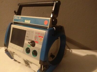 Zoll M Series Biphasic 2001 AED , ECG 12 leads, NIBP, SPO2, Pacers, XL Battery