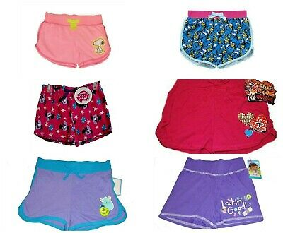 Girls Shorts  My Little Pony Doc Monsters Inc Finding Dory Snoopy Lalaloopsy NWT