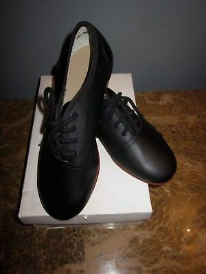 Mid-South Footwear Stomper Clogging Shoe Black #88 Kids Size13.5M New with Box