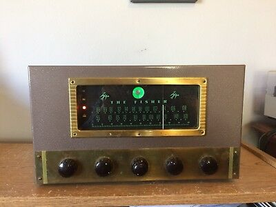 Vintage Fisher 70-RT Tube Tuner Preamplifier Mono Works Great Looks Great