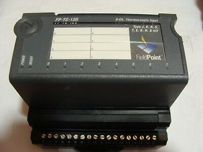 National Insruments FP-TC-120 8 Channel Thermocouple Input Used Excellent
