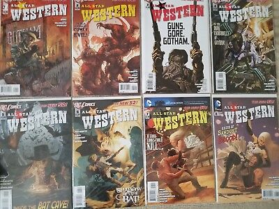 All Star Western (2011) New 52 Issues 1-17 VF/NM