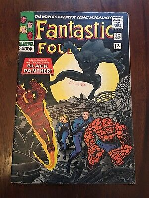 fantastic four 52 First Black Panther